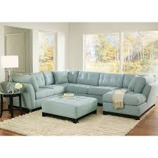 Light Blue Sectional Sofa Unique Blue Sectional Sofa 4 Light Blue Suede Sectional Sofa