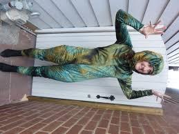 the talking tree wizard of oz crushed velvet jumpsuit bam bam
