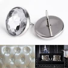 amazon com 100 x 22mm crystal sofa headboard upholstery nails