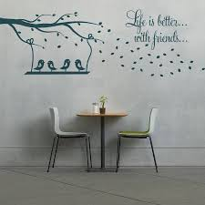 nursery wall sticker quotes swing and birds wall stickers