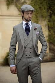 men wedding 2015 vintage grey mens suits peaked lapel wedding suits for men
