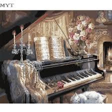 Peinture Moderne Pour Salon by Online Get Cheap Photos Pianos Aliexpress Com Alibaba Group