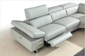 Grey Leather Armchair Contemporary Reclining Leather Couches Sofa Recliner Decor Grey
