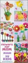 flower crafts for mom bits of everything