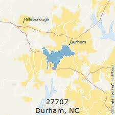 nc zip code map best places to live in durham zip 27707 carolina