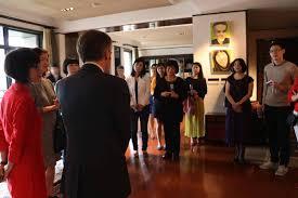 bureau de repr駸entation de taipei en 3月8號 法國在台協會紀博偉設宴邀請臺灣與法國分別在各自領域提升婦女