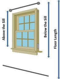 window measurements window treatments proper measurements