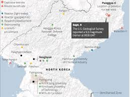 Map Of World Korea by North Korea Is Peppered With Hardened Nuclear Facilities
