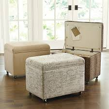 be more creative by making your own unique file storage ottoman