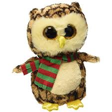 ty beanie boo wise owl 6 willikers