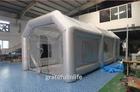 spray paint booth inflatable spray paint booth tent car custom 8x4x3m free