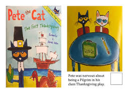 adapted books pete the cat s thanksgiving by ks class tpt