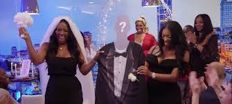 porsha williams wedding rhoa kenya moore is thrown a shady surprise wedding people com