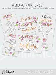 instant download 8 psd wedding shower invitation templates
