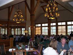 Snow Lodge Bar Picture Of Geyser Grill At Old Faithful Snow - Old faithful inn dining room menu