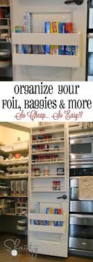 kitchen spice organization ideas omg i this spice rack foil and cling wrap potato and