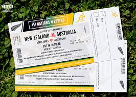 wedding invitations new zealand rugby ticket wedding invites wedfest