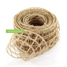 burlap wired ribbon 2 5 inches burlap wired ribbon by we can package