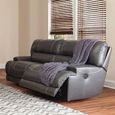 Gray Recliner Sofa Mccaskill Gray Reclining Sectional Sectionals Living Room