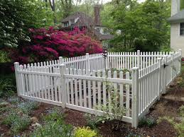 picket fence ideas for instant curb appeal picket fence garden