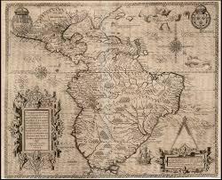 Map Of The New World by Ephemera Assemblyman Maps Of The U0027new World U0027