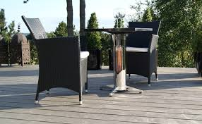 Patio Heater With Table Bewell Infrared Table Patio Heaters By Mensa Heating