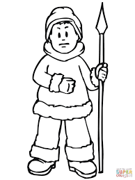 coloring pages pre k insider eskimo coloring page pre k pages free printable ice fishing