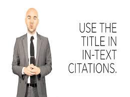 apa citations no author youtube