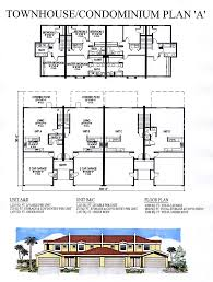 car service center floor plan townhouse condo plan a jpg