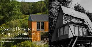 Modified A Frame House Which Makes A Better Home A Shipping Container Or An A Frame
