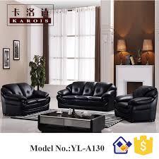 Leather Sofa Seat Seat Sofa Leather Sofa Set 3 2 1 Seat Black Sofa In