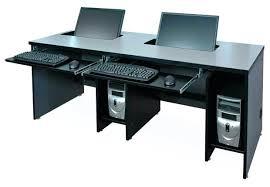 Desk Computers Desks For Two Computers 2 Person Gaming Desk Computer Desks For