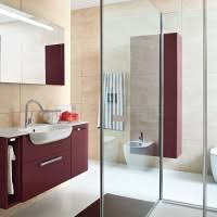 bathroom comely picture of bathroom decoration using round steel