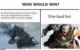 Video Meme Maker - image tagged in memes who would win skyrim video games imgflip