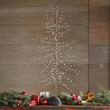 beaded wire tree decorations robert redford u0027s sundance catalog