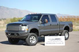ford f250 trucks for sale 2002 ford f250 crew 7 3 4x4 diesel truck for sale