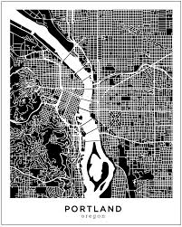 Portland Maps Com by Illustrations Icons U2014 Briana Romancier