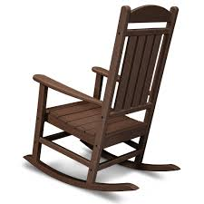 Indoor Wooden Rocking Chair Polywood Reg All Weather Presidential Rocker Home Furniture