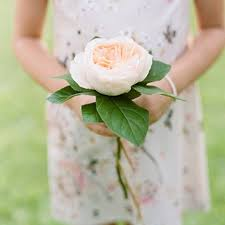 bridesmaid flowers these single flower bridesmaid bouquets are so on trend brides