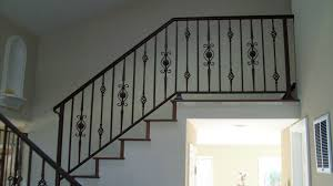 Wrought Iron Railings Interior Stairs Outdoor Stair Railing Designs Home Design By Larizza