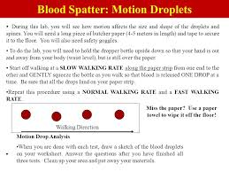 blood spatter analysis worksheet the best and most comprehensive