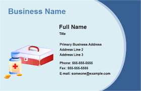 Design Your Own Business Card For Free Business Card Medical Free Business Card Medical Templates