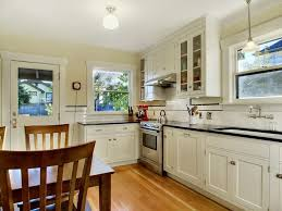 bungalow kitchen ideas finished period kitchen 1925 craftsman bungalow white