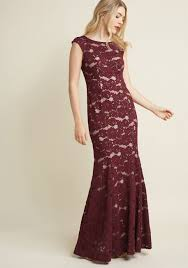 lace maxi dress looking luxe lace maxi dress in plum modcloth