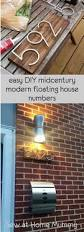 Pinterest Diy Home by Best 25 House Numbers Ideas On Pinterest Diy House Numbers