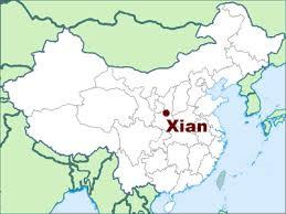 map of xi an china insight series xi an 西安 news la trobe