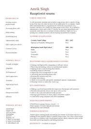 Secretarial Resume Template Medical Secretary Resume Sample Gallery Creawizard Com