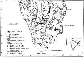 geochemistry of the floodplain sediments of the kaveri river