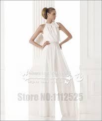 wedding dress jumpsuit awp 1005 modern bridal dress wedding dresses pant suits white