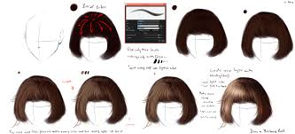 hair tutorial ryky s hair tutorial 2 medibang paint
